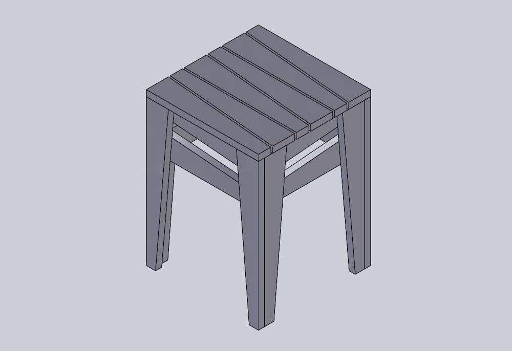 Solidworks Stool
